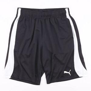 Vintage PUMA  Black Regular Sports Polyester Shorts Mens L W32