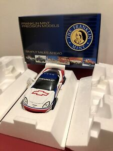 Franklin Mint 2006 Corvette ZO6 Indy 500 Pace Car. Limited Edition. 1:24