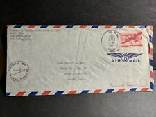 Navy #524 Falmouth, England 1944 Censored Wwii Naval Cover Sailor's Mail