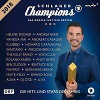 SCHLAGER CHAMPIONS 2018 - DAS GROßE FEST DER BESTEN  2 CD NEU