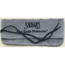 Sack Ups Protector 6 Knife Roll AC802 Holds six knives. Silicone treated gray co