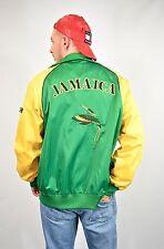 Para hombres De colección 90s Puma Amarillo Verde explicar logotipo cremallera chaqueta tamaño mediano