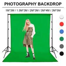 3*5M Photography Background Green Cotton Chromakey Screen Muslin Backdrop