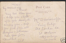 Genealogy Postcard - Family History - Woodroffe - Hastings - Sussex  BH5008