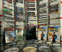 PS3 GAMES HUGE LOT YOU PICK EM PLAYSTATION 3 CLEANED AND TESTED.💥 FREE SHIPPING