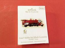 Hallmark ornament - 2009 Lionel Holiday - Red Mikado Locomotive - B015