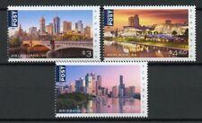 More details for australia 2018 mnh beautiful cities melbourne 3v set bridges architecture stamps
