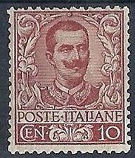 1901 REGNO FLOREALE 10 CENT MH * - RR8547