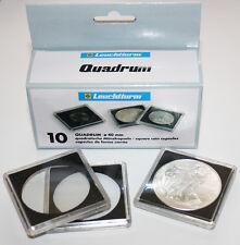 10 capsules QUADRUM pour pieces diametre au choix 14 à 41 millimetres
