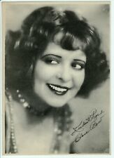 ~CLARA BOW~  Vintage Fan Photo Silent Film Actress