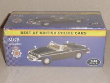 BEST OF BRITISH POLICE CARS,  MGB LANCASHIRE  POLICE VANGUARD CASTINGS JA06
