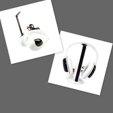 Cordless Headset Headphones with Mic 5 in 1 Hi-Fi for Laptop DVD TV FM Radio MP3