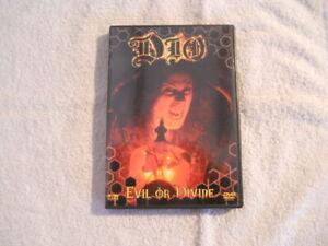 "Dio ""Evil or Divine""  2003 DVD Eagle Vision  100 min.  New $"