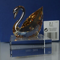 """Swaovski SCS Swan /""""120 Years of Innovation/"""" Event Piece-2015 Crystal MIB 5137830"""