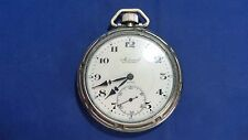 Antique Henry Sandoz Admiral 15 jewels Open Face Pocket Watch