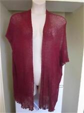 NEW..Stylish Plus Size Claret Red Cardi Jacket Kimino One Size will Fit 16-24