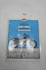 Harley 1991-1992 Sportster XL FIVE-SPEED parts catalog 99451-92 EP19944