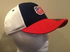 NEW MLS New England Revolution Soccer - Curved Brim Youth Boys Baseball Hat Cap
