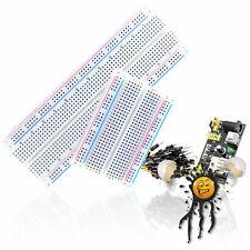 MB102 Arduino IoT ESP8266 Breadboard 400 830 Power Supply Jumper Kabel Set