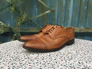 CHARLES TYRWHITT - Tan - All Leather - Cap Toe - Lace Up - Shoes  - UK 10