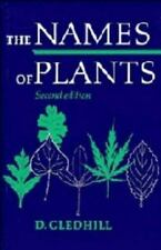 The Names of Plants Gledhill, D. Paperback