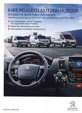 Peugeot Professional 06 / 2016 catalogue brochure  Autriche Partner Boxer