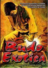 Budo Exotica Martial Arts Documentary DVD karate-do taekwondo kung fu kempo judo
