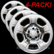 Jeep Liberty 2002-2007 Chrome Wheel Skin Covers - Brand New Set of 4