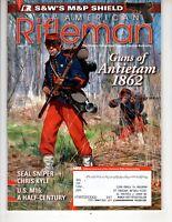 American Rifleman Magazine July 2012 Antietam 1862  Seal Sniper Chris Kyle