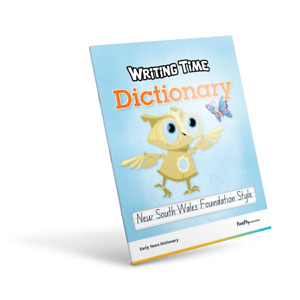 NSW - Writing Time Early Years Dictionary