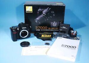 Nikon D7000 16.2MP Digital SLR Camera * MINT * ONLY 2991 Shutter Count
