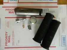 HONDA ct70 z50 st70 dax throttle assembly parts w/girps black w throttle screw