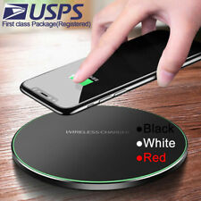 Qi Fast Wireless Charger Dock For LG G7 G8 V30S V35 V50 ThinQ/Samsung S10/S9/S8