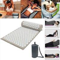 Massage Yoga Mat Acupressure Massage Meditation Yoga Y0I4 Stress Relax Mat A2V8