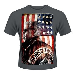 Sons of Anarchy President Men's Charcoal T-Shirt
