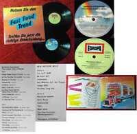 2LP Nutzen Sie den Fast Food Trend (Miller International / MCA Werbeplatte) 1982