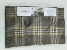 Threshold Extended Table Runner NEW 90 X 20 Brown Tweed Style (bf53)