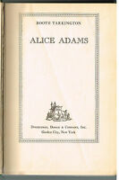Alice Adams by Booth Tarkington 1921 1st Ed. Vintage Book! $