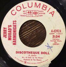 Jerry Murad's Harmonicat's, Discotheque Doll / Lots Of Pretty Girls 45, Columbia