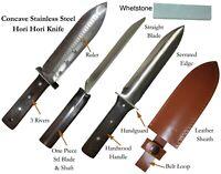 Stainless Steel DIGGING Hori Hori Knife with Sheath and Whetstone Gardening Kit