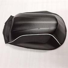 Black Motorcycle Bicycle Bag Waterproof Backpack Travel Luggage Pack Carbon Look