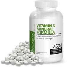 Bronson Vitamin and Mineral Formula, 250 Tablets