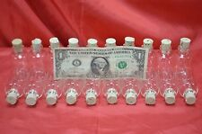 Wholesale 24 Empty Sample Vials Clear Glass Bottles Each Holds 25ml With Corks