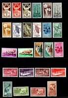 Ifni stamps, many topical sets, all mint, VVF - XF, Birds, Animals, Insects,