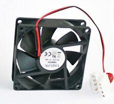 Logilink Kühler 80x80x25 mm PC Gehäuse-Lüfter schwarz 80mm Fan 80 25 Computer