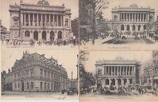 FRANCE STOCKMARKETS BOURSES 100 Vintage Postcards Mostly Pre-1940