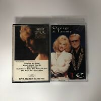 Tammy Wynette And George 2 Cassettes