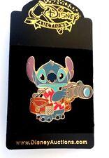 Tourist Stitch with Camera Disney Auction Pin rare