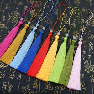 4.7'' Bead tassels for jewelry making DIY Earrings Tassel Pendants Trim 1~10pc