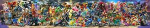 "Super Smash Bros Ultimate Poster 130x24"" 108x20"" Updated DLC Sora Print Silk"